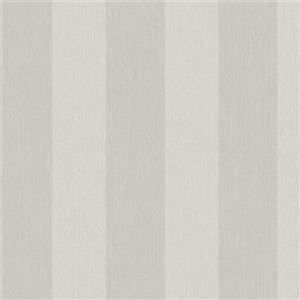 Walls Republic Striped 57 sq ft Tan Unpasted Wallpaper