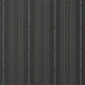 Walls Republic Senses Geometric Striped 57 sq ft Charcoal Unpasted Wallpaper