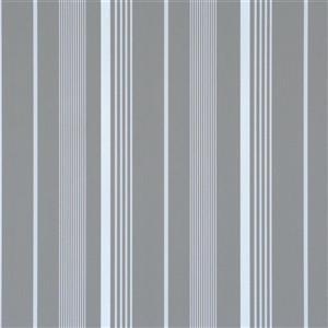 Walls Republic Path Grey Striped Wallpaper