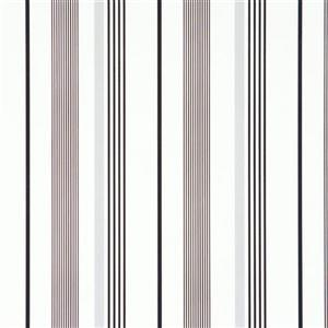 Walls Republic White Path Striped Wallpaper