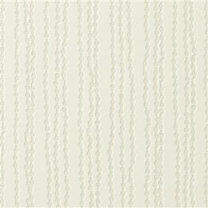 Walls Republic Off-White Luxury Bead Striped Wallpaper 21-in