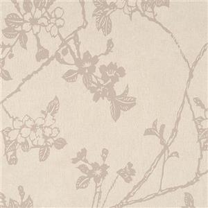 Walls Republic Off-White Floral Non-Woven Paste The Wall Flora Floral Blossom Wallpaper