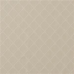 Walls Republic Ecru Geometric Non-Woven Paste The Wall Ease Stitched Wallpaper
