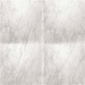 Walls Republic Grey/Grey Contemporary Faux Marble Wallpaper