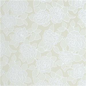 Walls Republic Ecru/Off-White Desire Pattern Wallpaper