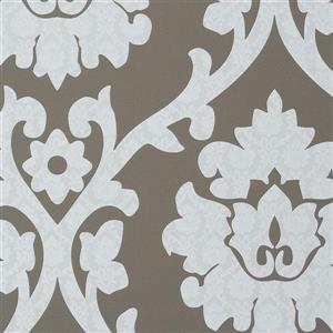 Walls Republic Brown Plush Pattern Wallpaper