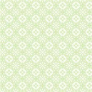 Walls Republic Sparkling Pattern Green 57sq-ft Unpasted Wallpaper