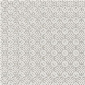 Walls Republic Sparkling Pattern Grey 57sq-ft Unpasted Wallpaper
