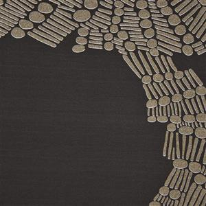 Walls Republic Web Pattern Patch 57 sq ft Light Gold/Black Unpasted Wallpaper