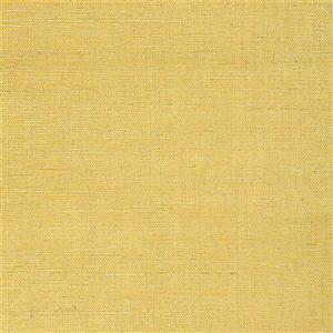 Walls Republic Sisal Grasscloth Yellow 54sq-ft Unpasted Wallpaper