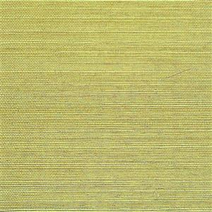 Walls Republic Sisal Grasscloth Yellow/Green 54sq-ft Unpasted Wallpaper