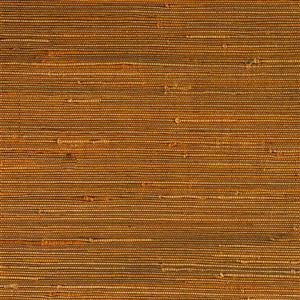 Walls Republic Yellow Grasscloth Non-Woven Paste The Paper Duo Jute Wallpaper