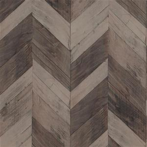 Walls Republic Wood Herrinbone 57 sq ft Light Brown/Taupe Unpasted Wallpaper