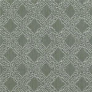 Walls Republic Green Geometric Non-Woven Paste The Wall Geometric Diamond Weave Wallpaper