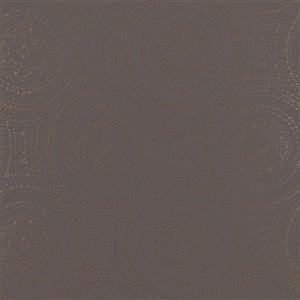 Walls Republic Grey/Rose Gold Geometric Non-Woven Paste The Wall Tribal Rings Wallpaper