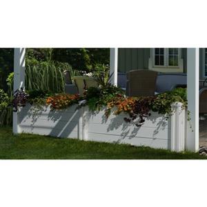 New England Arbors Pergola Garden Bed 10-In Pergolas