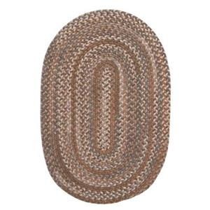 Colonial Mills Oak Harbour 8-ft Round Cashew Area Rug