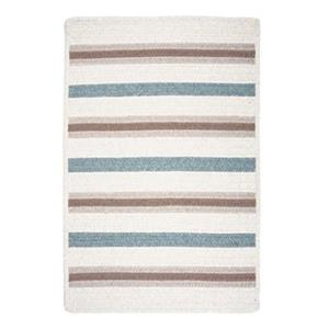 Colonial Mills Allure 2-ft x 6-ft Sparrow Off-White Area Rug