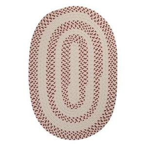 Colonial Mills Elmwood 4-ft x 6-ft Oval Rosewood Area Rug