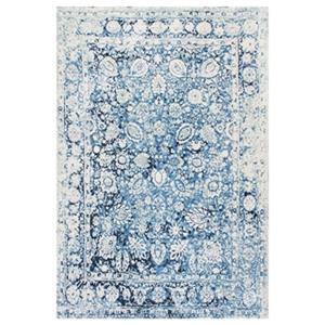 Blue Vintage Floral Boisvert Area Rug