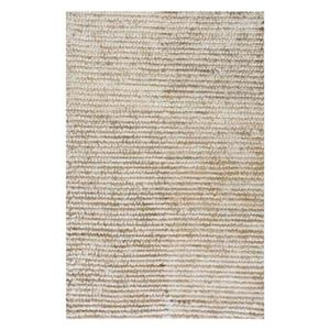 Casual Solid Remona Shag Natural Area Rug