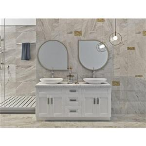 Cowry White 69-in x 21-in x 31.50-in Cabinet