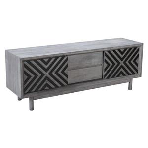 Zuo Modern Raven TV Stand - 50-in x 26-in - Grey