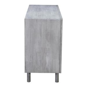 Zuo Modern Raven Console Table - 48-in x 30-in - Grey Wood