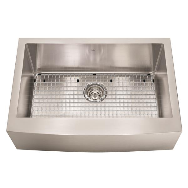 Kindred Designer Series 29 88 In X 20 75 In Bow Apron Front Farmhouse Sink Lowe S Canada
