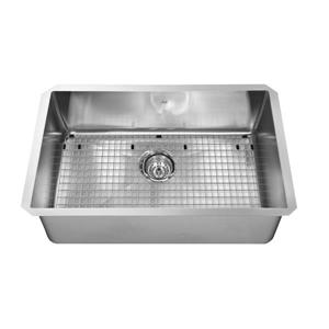 Kindred 27-in x 18-in Stainless Steel Single Sink