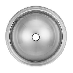 Kindred 16.75-in x 16.75-in Stainless Steel Single Sink
