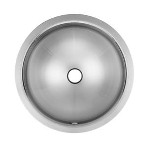 Kindred 16.25-in x 16.25-in Stainless Steel Single Sink