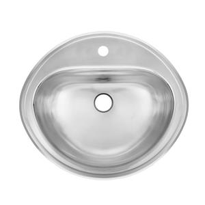 Kindred 19-in x 16-in  Stainless Steel Single Sink
