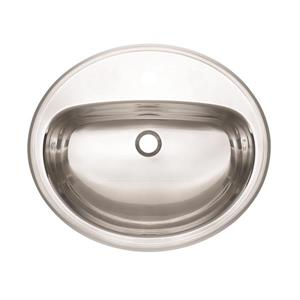 Kindred 21-in x 18-in Stainless Steel Single Sink