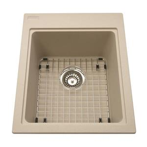 Kindred Collection Granite Top Mount Single Kitchen Sink
