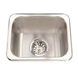 Kindred 13.63-in x 11.25-in Stainless Steel Single Sink