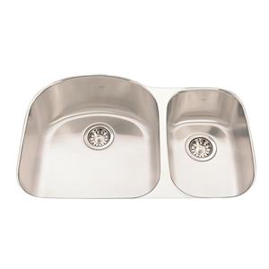 Kindred 31.50-in Stainless Steel Double Sink