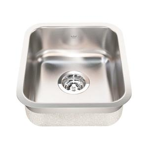 Kindred 13.75-in x 15.75-in Stainless Steel Single Sink