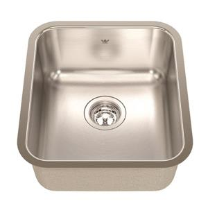 Kindred 15.75-in x 17.75-in Stainless Steel Single Sink
