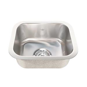 Kindred 13.38-in x 11-in Stainless Steel Single Sink