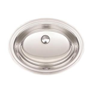 Kindred 17.75-in x 13.75-in Stainless Steel Single Sink