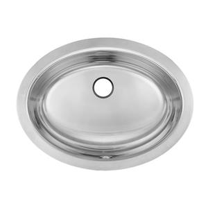 Kindred 17.88-in x 13.63-in Stainless Steel Single Sink