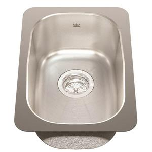 Kindred 12.75-in x 18.13-in Stainless Steel Single Sink
