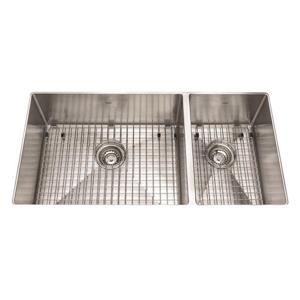 Kindred 35-in Stainless Steel Double Sink
