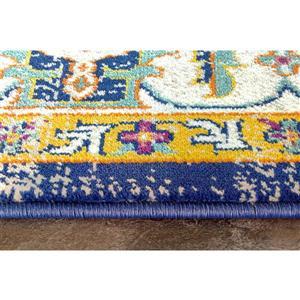 Kalora Topaz Colorful Traditional Rug - 8' x 11' - Orange
