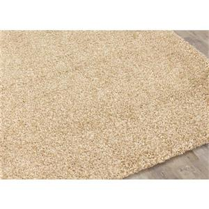 Kalora Shaggy Rug - 5' x 8' - Taupe/Beige