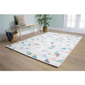 Kalora Spring Quilted Pastels Rug - 8' x 11'