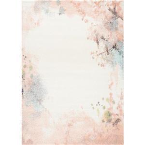 Kalora Spring Distressed Outline Rug - 8' x 11' - Pink