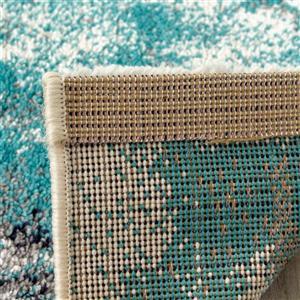Kalora Spring Distressed Outline Rug - 8' x 11' - Blue