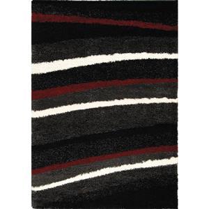 Kalora Shaggy Soft Arches Rug - 8' x 11' - Charcoal